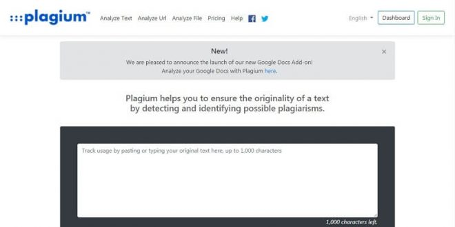 Best Free Plagiarism Checkers