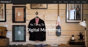 Free Marketing WordPress Themes