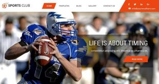 Sports Club Lite Free Sports WordPress Themes