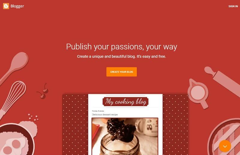 #Blogger: Best Free Blogging Platforms