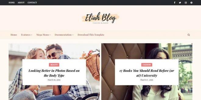 Best Free Responsive Blogger Templates
