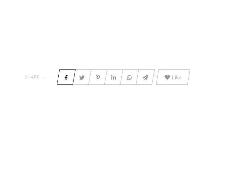 Share Buttons Animation