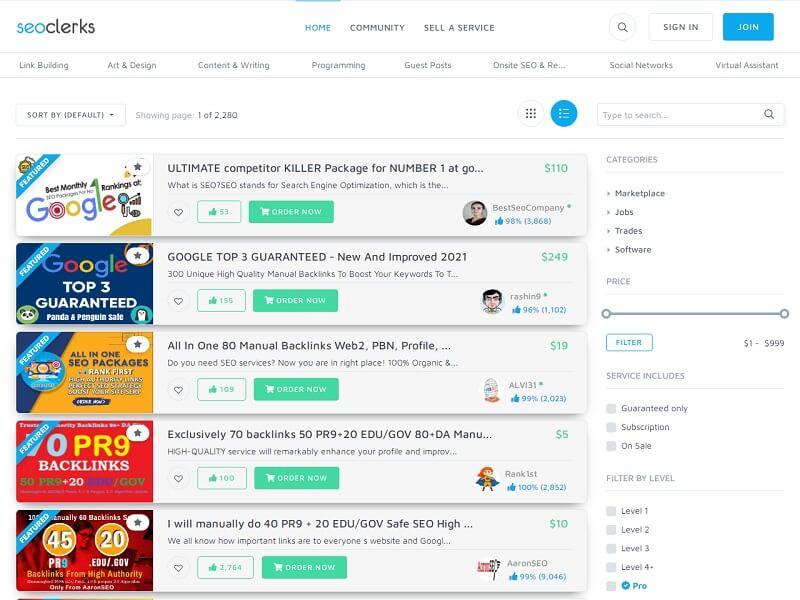 #SEOClerks: Best Freelance Websites For Beginners
